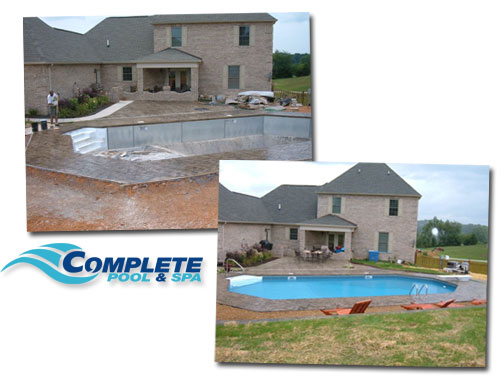 Complete Pool & Spa - Construction